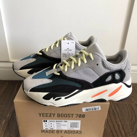 Adidas Yeezy Boost 700 Wave Runner Solid Grey DS NWT